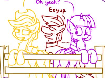 Comics My Little Pony Equestria Daily Header Calpain