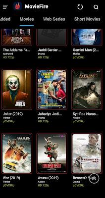 تطبيق MovieFire للأندرويد, تطبيق MovieFire مدفوع للأندرويد, MovieFire aok mod