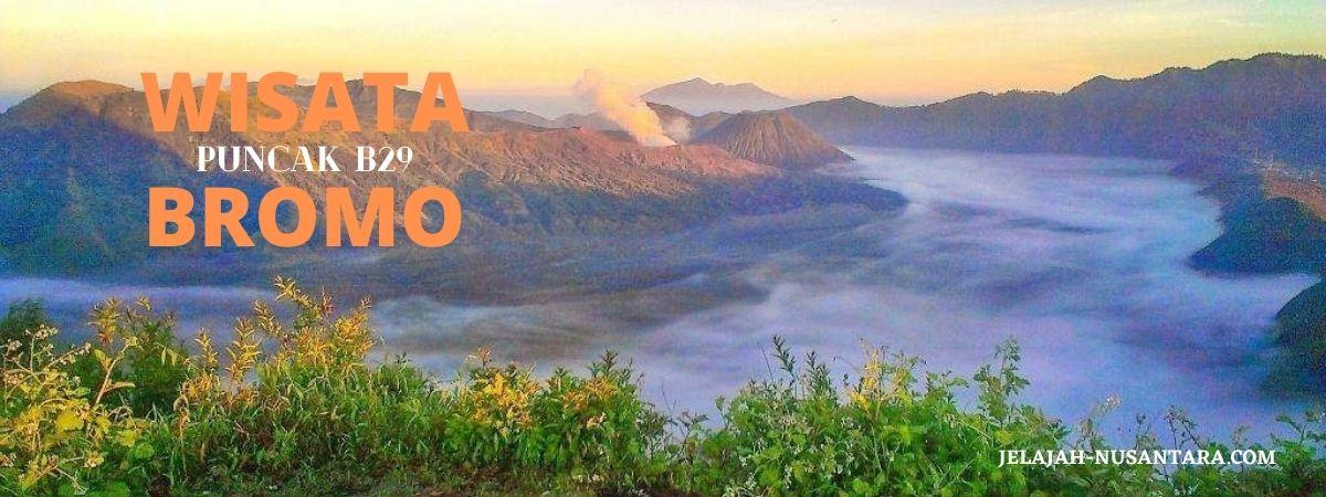open trip wisata bromo puncak b29 dan air terjun tumpak sewu dari surabaya