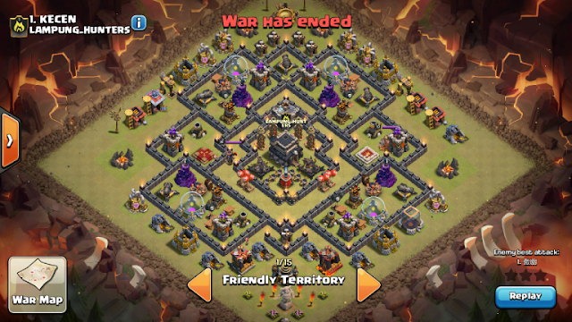 Base Th 9 Buat War Terkuat 5