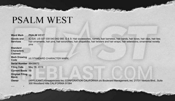 Psalm West, Kim Kardashian, Kanye West