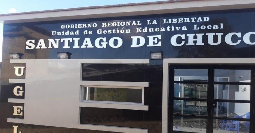 Nuevos nombrados en la UGEL Santiago de Chuco [Resultados Finales - Servidores Públicos] www.ugelsantiagodechuco.gob.pe