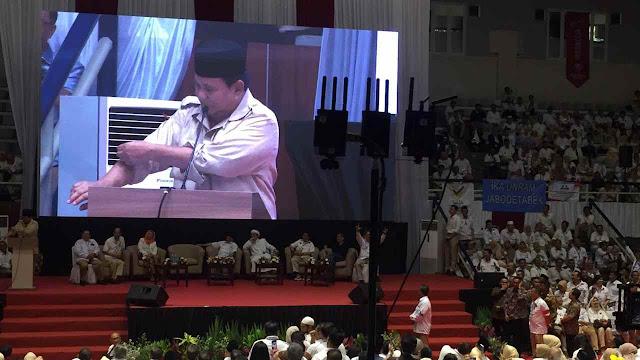 Di Acara Prabowo, Ketum FPI Singgung Kasus Ahok