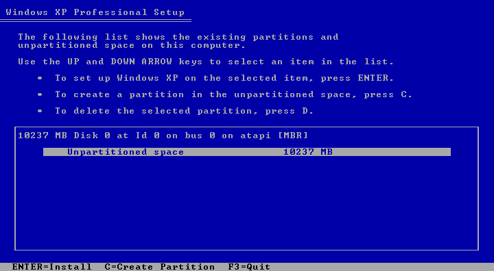 Cara Install Windows XP (Lengkap Dengan Gambar)