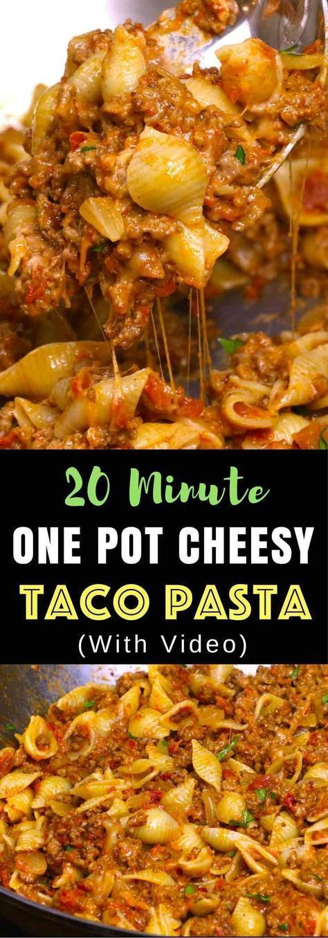 CHEESY TACO PASTA #recipes #dinnerideas #quickdinnerideas #food #foodporn #healthy #yummy #instafood #foodie #delicious #dinner #breakfast #dessert #lunch #vegan #cake #eatclean #homemade #diet #healthyfood #cleaneating #foodstagram
