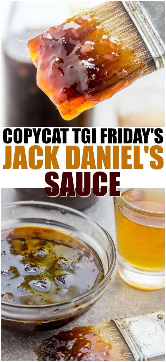 Copycat TGI Friday's Jack Daniels Sauce
