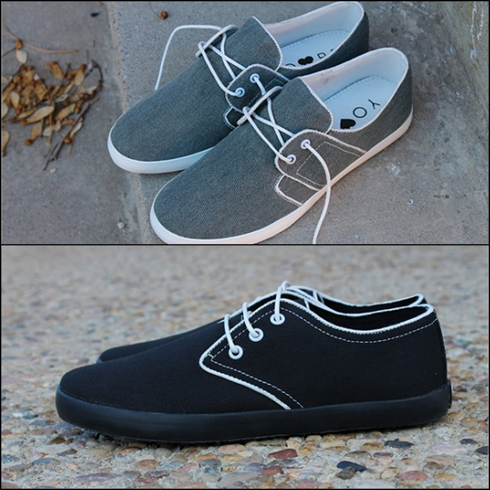 Yours Shoes Minimalist Casual Canvas Shoes Independent Fashion