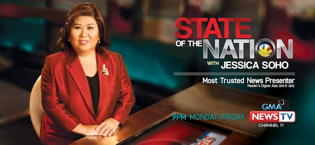 State Of The Nation With Jessica Soho November 04 2016 SHOW DESCRIPTION: State of the Nation is the flagship nightly news program of GMA News TV. It is anchored by […]