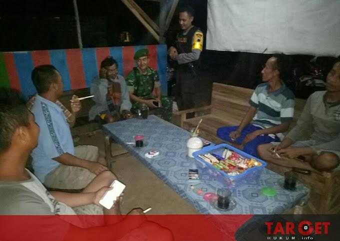 Koramil dan Polsek Patroli Bareng Ciptakan Rasa Keamanan di Bulan Ramadhan