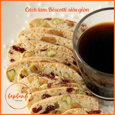 3 công thức làm bánh Biscotti 3