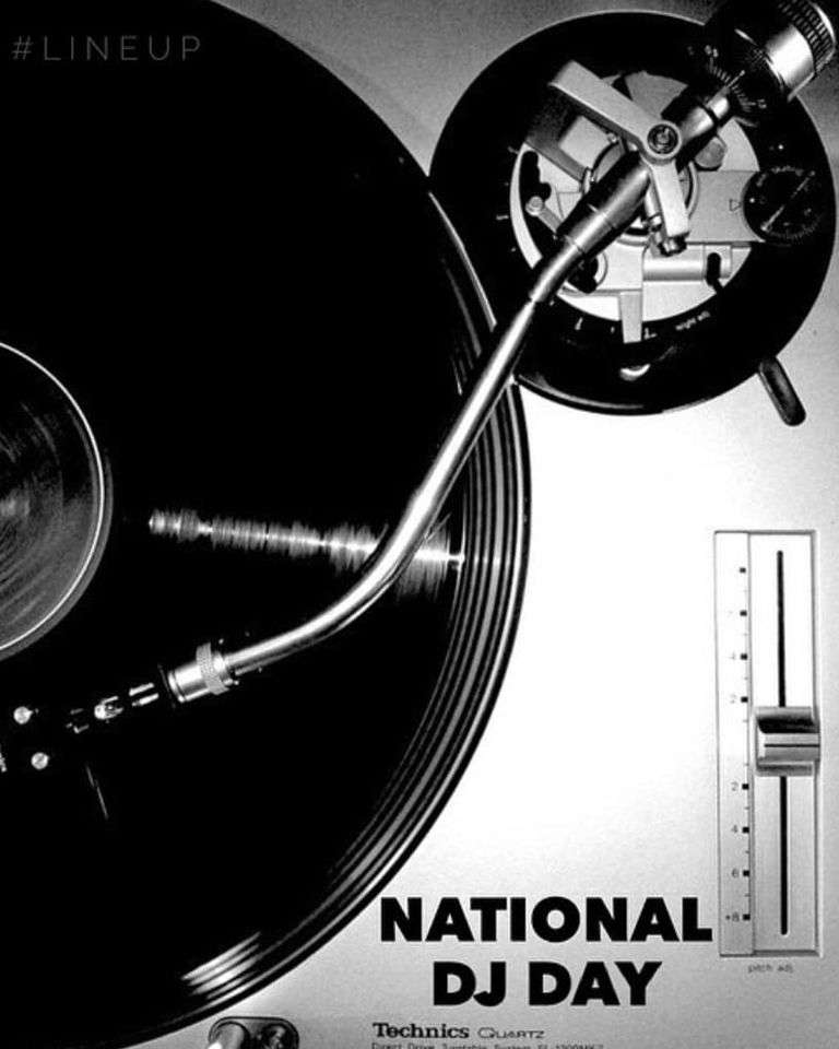 National DJ Day Wishes Awesome Picture