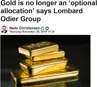 2020년 국제 금 시세 전망 : 1350 ~ 1650 달러. 실물 금 보유는 선택 아닌 필수