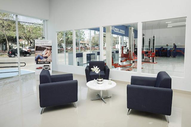 Ford inaugura a concessionária Studio na Avenida dos Bandeirantes, em São Paulo