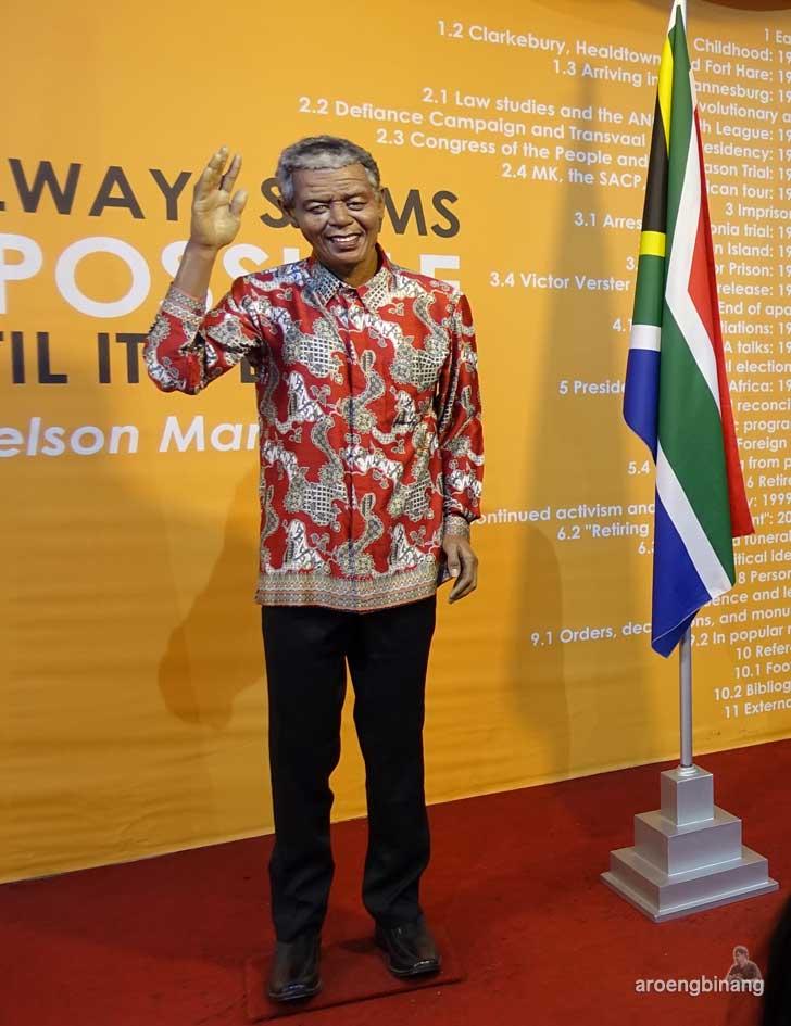 Mandela de arca statue art museum yogyakarta