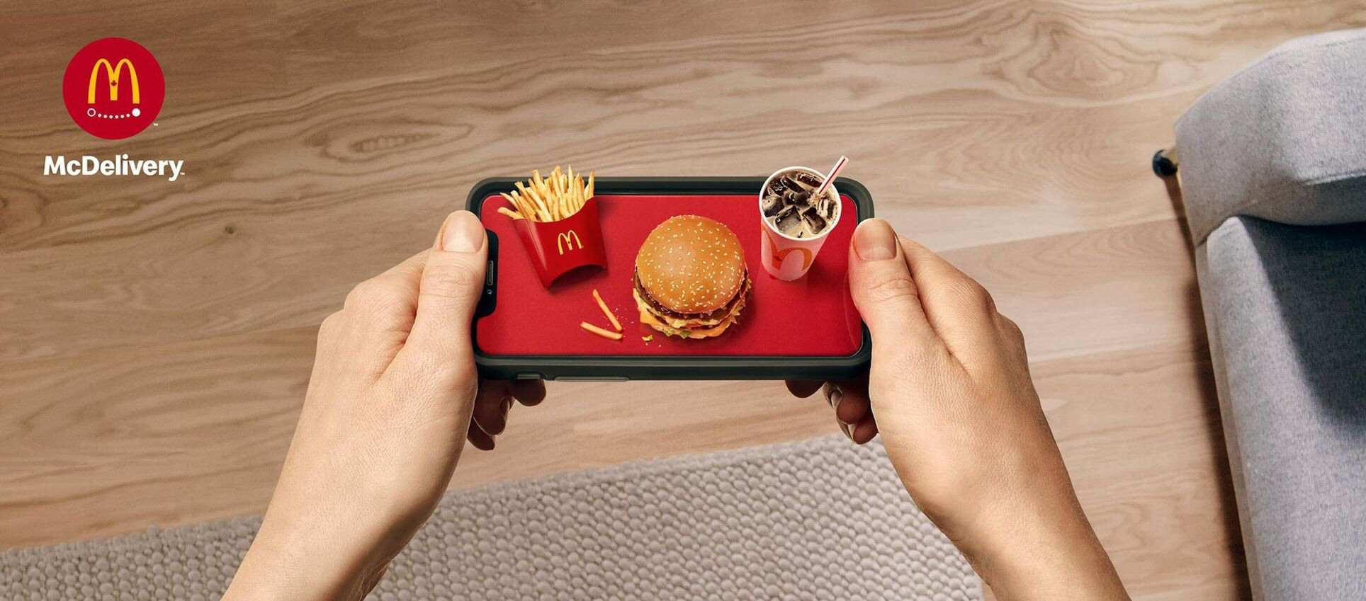 McDonald's at your fingertips