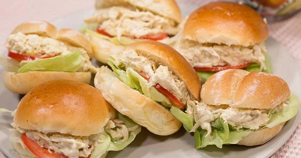 Receta de Sandwich de Pollo a la Brasa