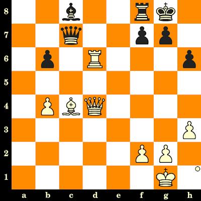 Les Blancs jouent et matent en 3 coups - Paul Keres vs Corvin Radovici, Leipzig, 1960