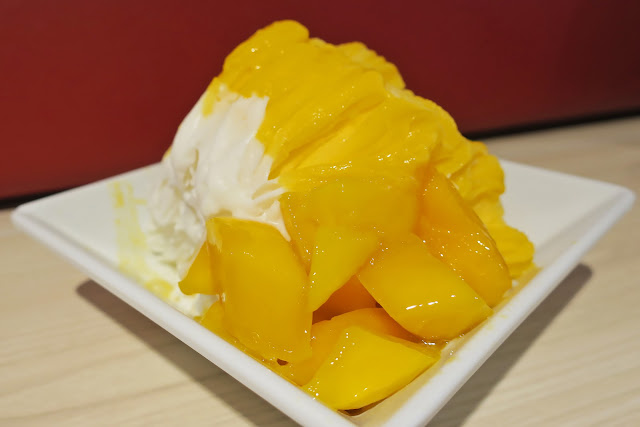 Mango and coconut duo ice