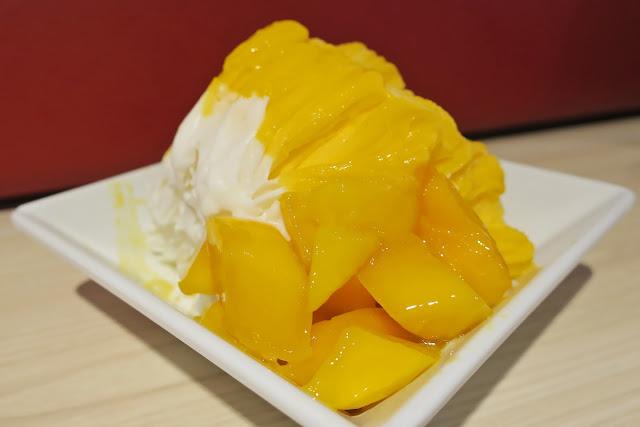 Mango and coconut duo ice
