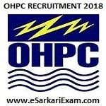 OHPC DET, GET, MT Recruitment 2018