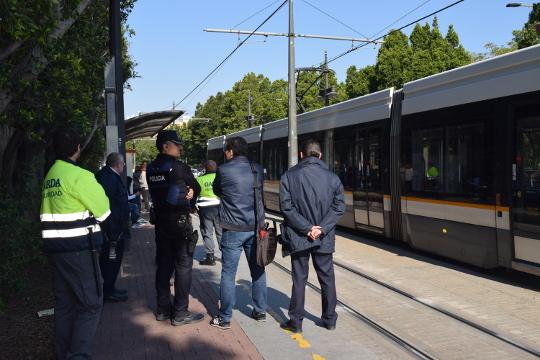 FGV realizó el pasado año 3.258 controles antifraude en las diferentes líneas de Metrovalencia y TRAM d'Alacant