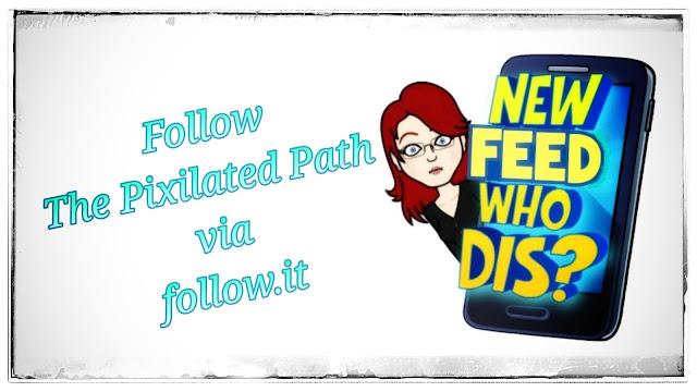 Follow The Pixilated Path via follow.it
