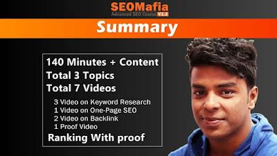 SeoMafia Bloggign Course By Technical Ripon
