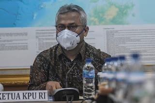Begini Ketahuannya Ketua KPU Arief Budiman Positif Covid-19, Padahal Hasil Rapid Test Non Reaktif