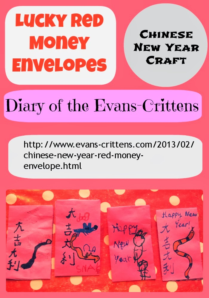 , Chinese New Year Crafts Round Up 2014