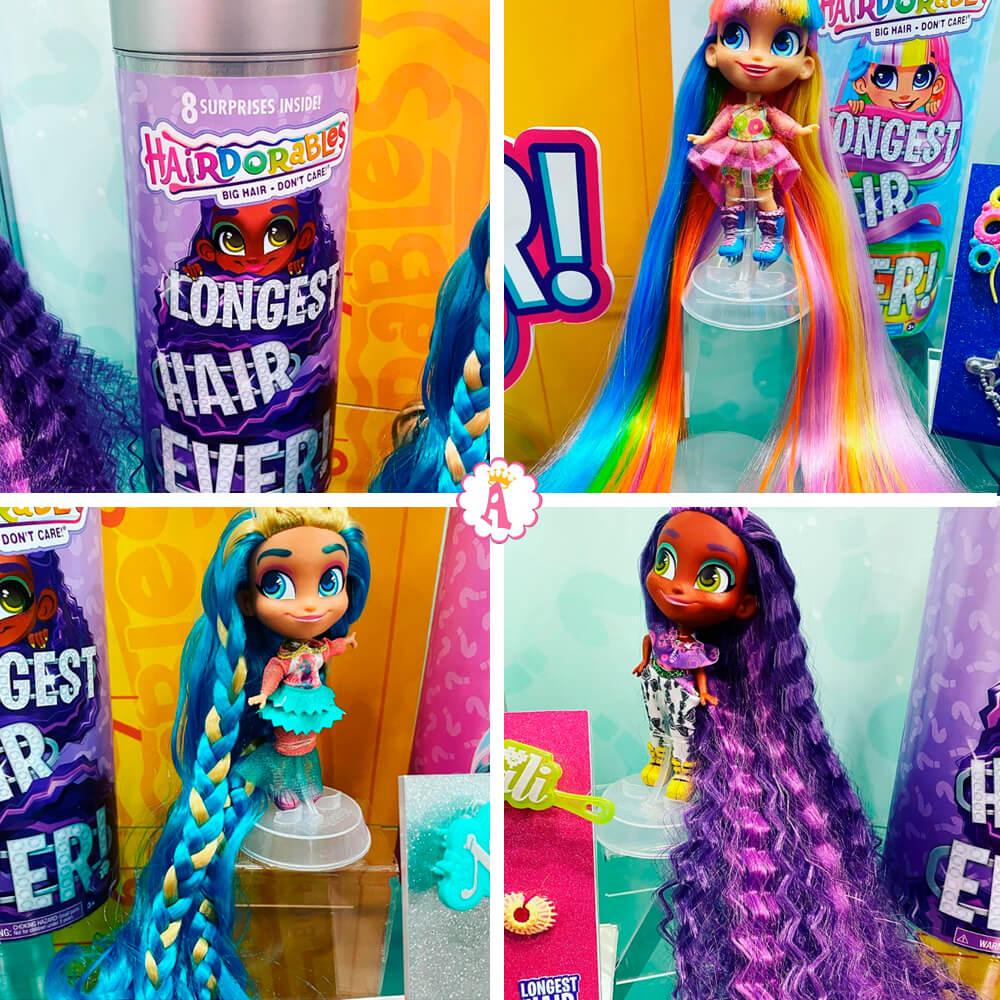 Новые куклы Хэрдораблс 8 сюрпризов (Hairdorables Longest Hair Ever)