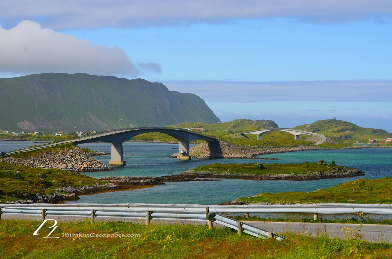 Enroute to Ferdvang, hard to miss these spectacular bridges