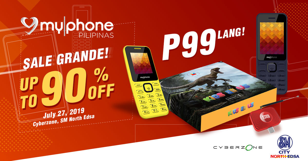 MyPhone SM Cyberzone Partnership Sale, MyPhone DTV Dongle