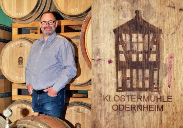 Thomas Zenz, Kellermeister des Weingutes Disibodenberg.