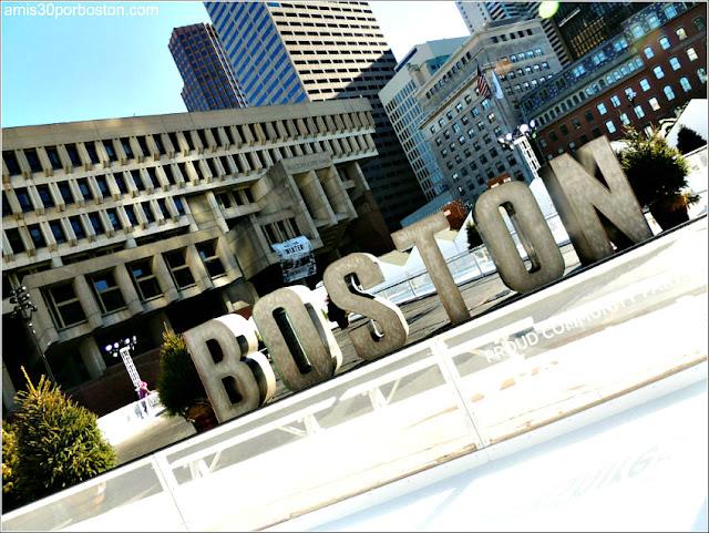 Plaza del Ayuntamiento de Boston