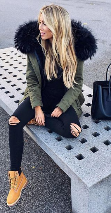 How To Wear Timberland Boots If You Are A Girl – Outfits With Timberlands