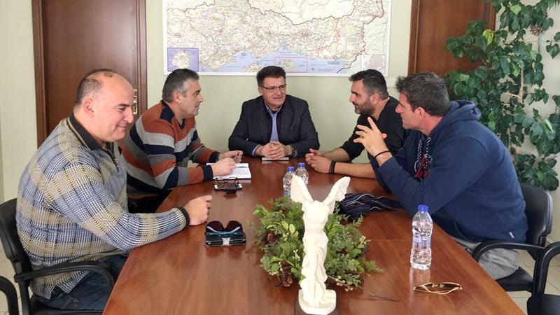 Συνάντηση Πέτροβιτς με το Δ.Σ. της Ένωσης Συνοριακών Φυλάκων Ν. Έβρου