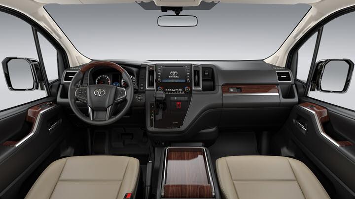 Toyota Granvia - MPV 9 chỗ giá hơn 3 tỷ đồng
