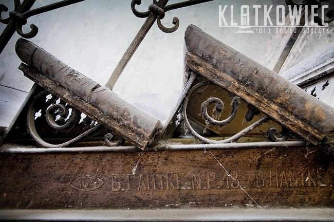 Częstochowa: schody B. Hantke i ślad po zaborze rosyjskim