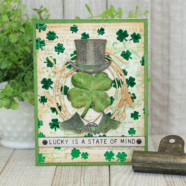 Lucky St. Patrick's Day Card by Juliana Michaels