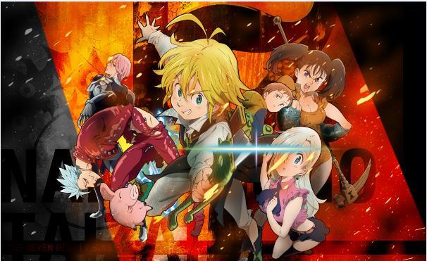 Daftar Film Anime Mirip Fairy Tail - Nanatsu no Taizai