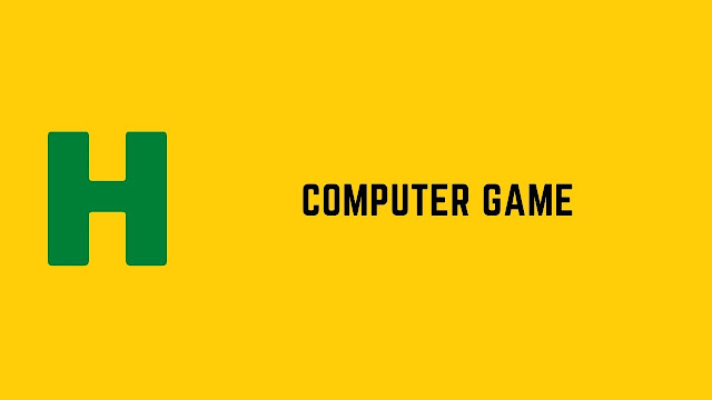 HackerRank Computer Game problem solution