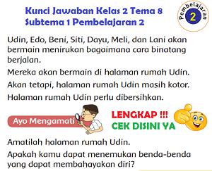 Kunci Jawaban Kelas 2 Tema 8 Subtema 1 Pembelajaran 2 www.simplenews.me