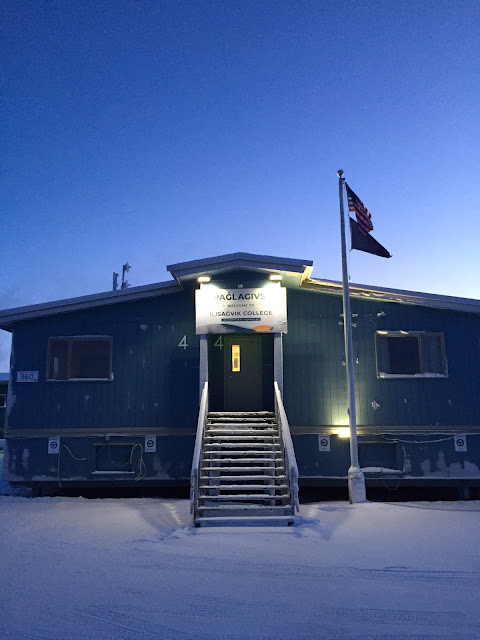 Iḷisaġvik College, Utqiaġvik, Alaska: Main Office (c) 2020 Supratim Sanyal