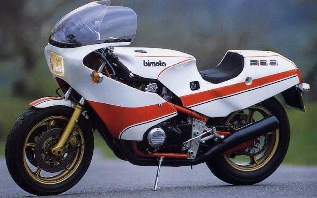 Bimota HB2 1980s Italian sports bike