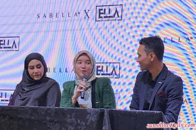 SABELLA x ELLA, Sabella, Ella, Ratu Rock Malaysia, Siti Sabella, Mohd Sufian Sulaiman, #EllaSukaSabella #BajuTanpaGosok, Fashion
