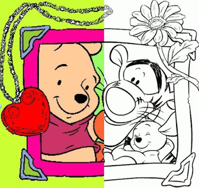 Imágenes para colorear winnie the pooh Disney