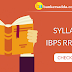 Syllabus for IBPS RRB  2017 Exam