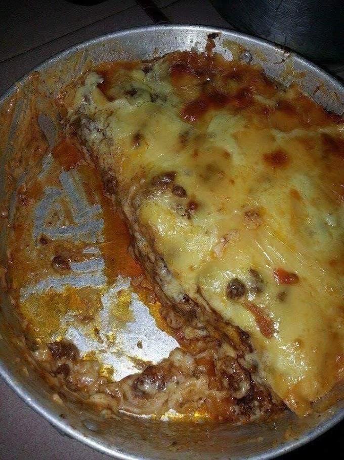 Resepi Lasagna Mudah