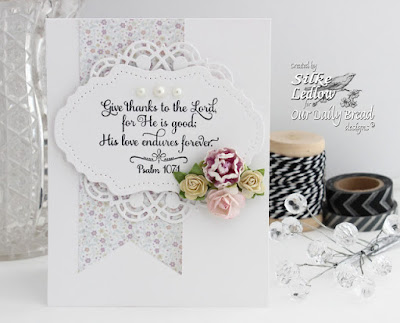 Our Daily Bread Designs Stamp Set: Many Thanks, Our Daily Bread Designs Custom Dies: Doily, Vintage Flourish Pattern