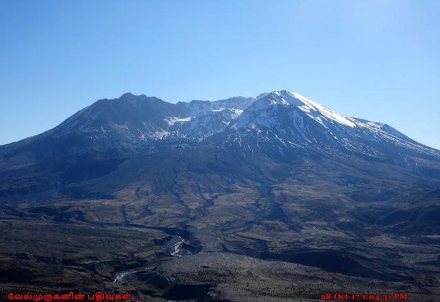 Mount St. Helens terrestrial landslide